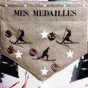 Porte-médailles chocolat